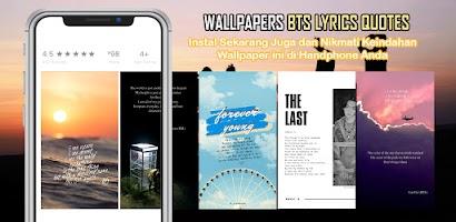 BTS Lyrics Quotes Wallpaper HD