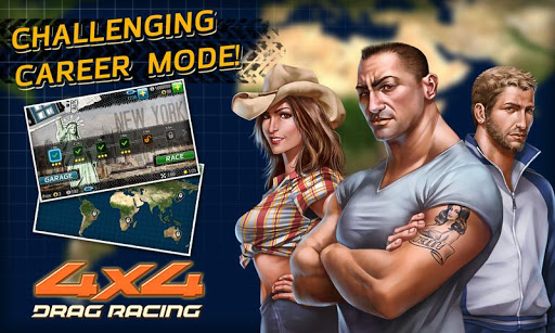 Drag Racing 4x4 screenshots 4