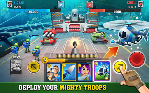 Mighty Battles apkpoly screenshots 4