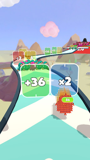 Flying Arrow Fest - Count Masters Brain Challenge  screenshots 22