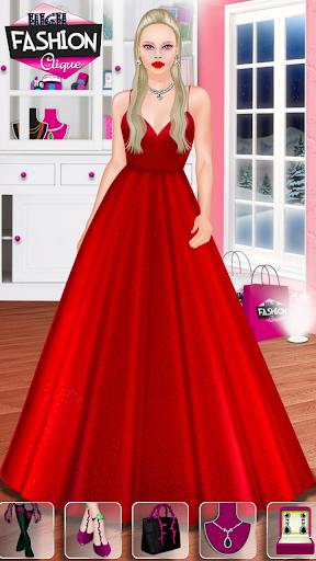 High Fashion Clique - Dress up & Makeup Game  screenshots 2