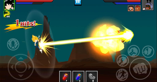 Stickman Battle : Super Dragon Shadow War  screenshots 3