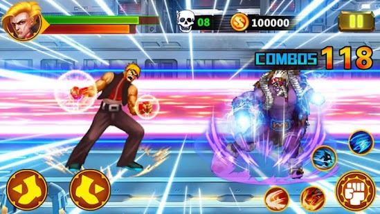 Street Fighting2:K.O Fighters Screenshot