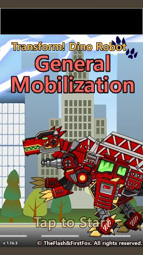 Transform Dino Robot - General Mobilization 1.29.0 screenshots 14