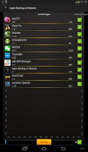 Apps Backup & Restore