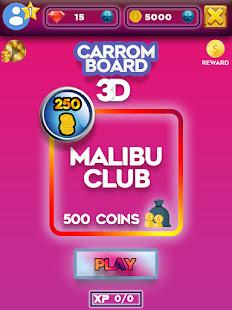 Carrom Board 3D: Online Multiplayer Pool Game 2021 screenshots 2