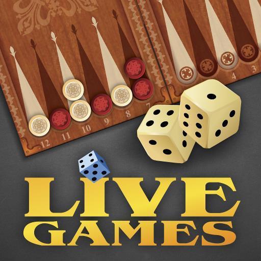 Backgammon LiveGames - live free online game