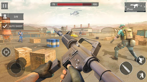 Anti Terrorism Shooter 2020 - Free Shooting Games 3.3 Screenshots 9