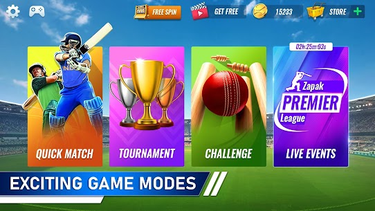 T20 Cricket Champions 3D MOD (Unlimited Gold Coins) 2