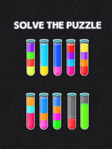 Color Water Sort Puzzle: Liquid Sort It 3D  screenshots 9