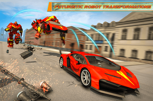 Dragon Robot Transforming Car  screenshots 1