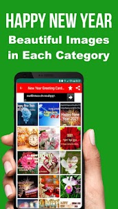 Happy New Year SMS Greeting Cards 2021 Apk Download 3
