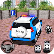 Police Spooky Jeep Parking Simulator - Car Driving