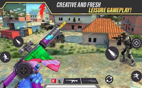 Sniper gun game: Offline 3D Shooting Games 2021  screenshots 1