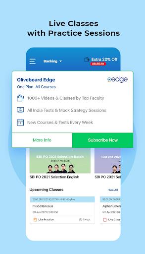 Exam Preparation App: Free Mock Test, Live Classes apktram screenshots 3