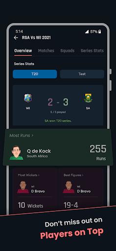 Cricket Exchange - Live Score & Analysis apktram screenshots 5