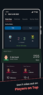 Cricket Exchange – Live Score & Analysis (MOD APK, Premium) v21.08.03 3