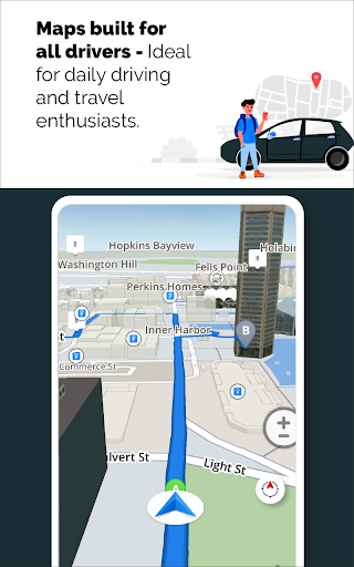 GPS Live Navigation, Maps, Directions and Explore  Screenshots 9