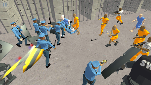 Battle Simulator: Prison & Police apktram screenshots 7