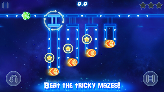Glow Monsters - Maze survival
