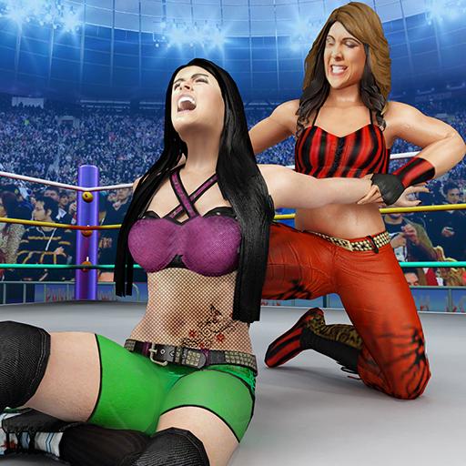 Bad Girls Wrestling Game: GYM Women Fighting Games