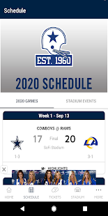 Dallas Cowboys Screenshot