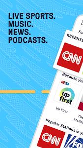 TuneIn Radio: News, Sports & Online Music Stations 27.1.1