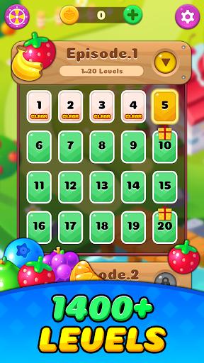 Fruit Delight Burst: Match3 Sweet Puzzle Adventure 1.0.23 screenshots 1