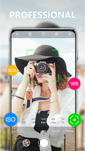 HD Camera - Quick Snap Photo & Video 1.7.8 Screenshots 2