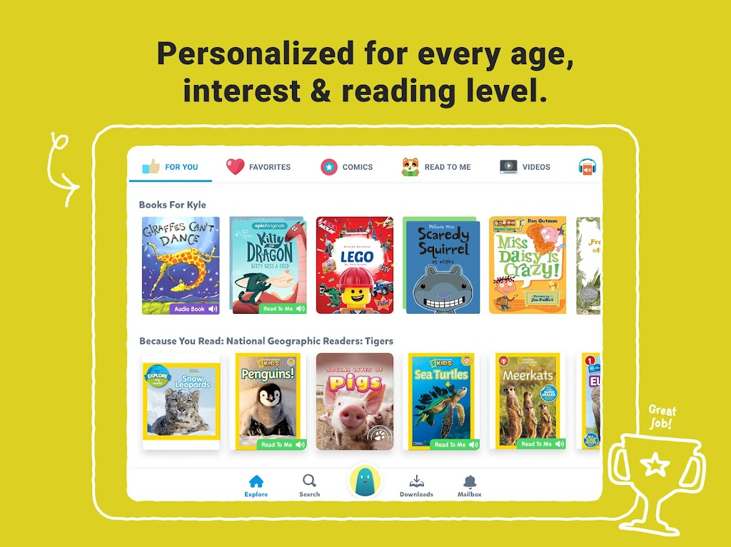Epic: Kids' Books & Educational Reading Library  poster 9