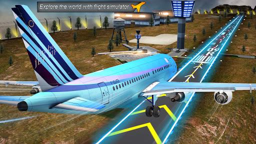 Airplane Real Flight Simulator 2020 : Plane Games apktram screenshots 16