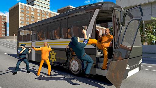 american police prisoner bus simulator- free games screenshot 2