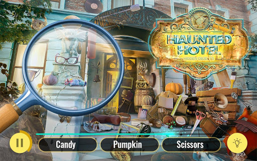 Haunted Hotel Hidden Object Escape Game  screenshots 1