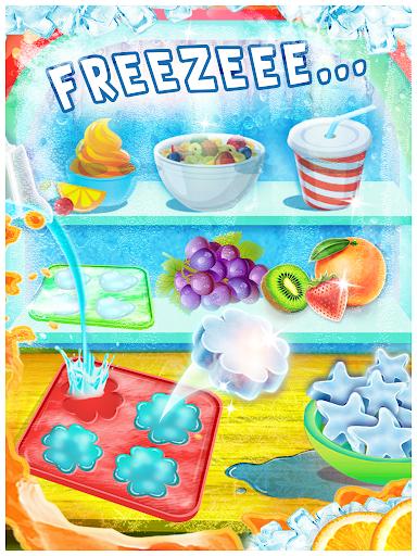 Ice Slush Cold Drink Maker - Kids Cooking Game  screenshots 1