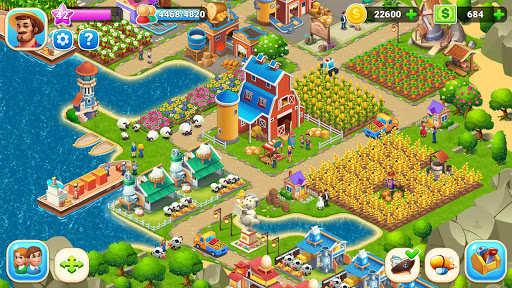 Farm City : Farming & City Building apkpoly screenshots 2