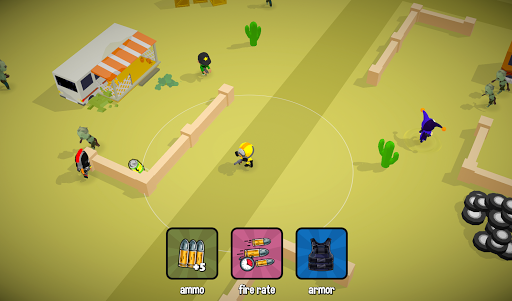 Zombie Battle Royale 3D io game offline and online 1.5.1 screenshots 3