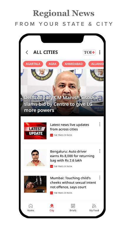 The Times of India Newspaper - Latest News App  poster 3