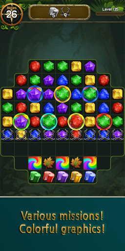 Jewel & Gem Crush - Match Master  screenshots 17