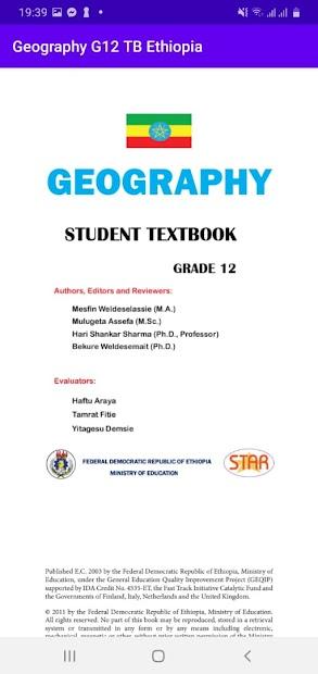 Geography Grade 12 Textbook for Ethiopia 12 Grade screenshot 3