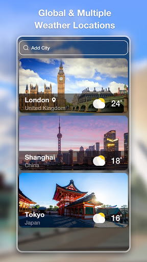 Weather Forecast - Accurate Local Weather & Widget 1.0.9 screenshots 7