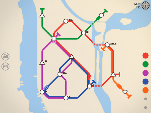 Mini Metro Varies with device screenshots 13