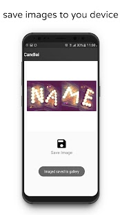 Photo Designer - Write your name with shapes Screenshot