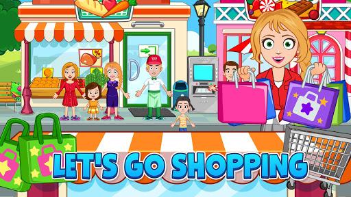My Town: Stores - Doll house & Dress up Girls Game apktram screenshots 5