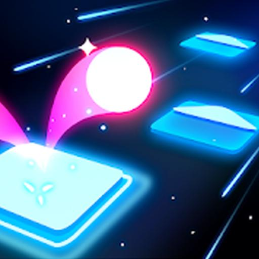 Jump Ball: Tiles and Beats APK
