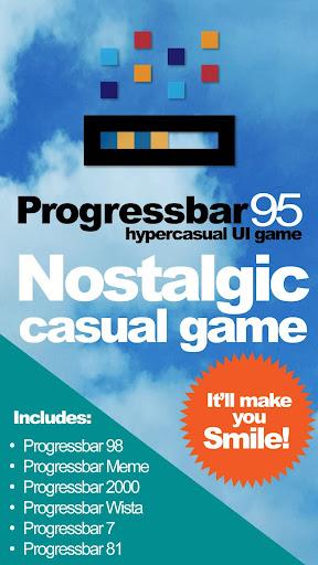 Progressbar95 - easy, nostalgic hyper-casual game 0.6800 screenshots 5