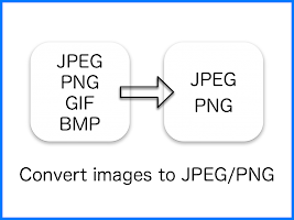 JPEG / PNG Image File Converter