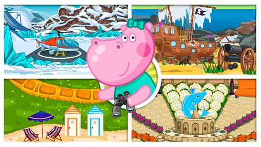 Hippo in Seahouse: Hidden Objects for Kids  screenshots 6