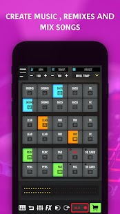 MixPads - Drum Beat Pad & DJ Music Mixer Screenshot