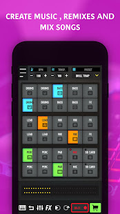 MixPads - Drum pad machine & DJ Audio Mixer 7.20 Screenshots 6
