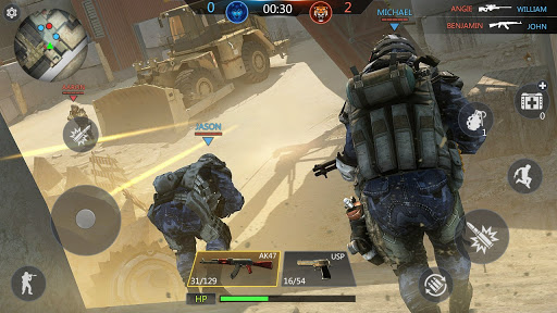 FPS Online Strike - Multiplayer PVP Shooter screenshots 3